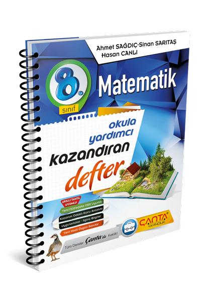 Çanta Yayýncýlýk 8.Sýnýf Matematik Kazandýran Defter Yeni Baský (2020-2021)