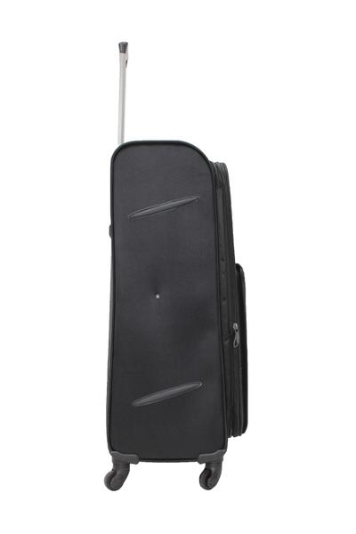 Cambridge Polo Club Körüklü Kumaþ Bavul Madrid Büyük Boy PLBVL30021-L-Siyah