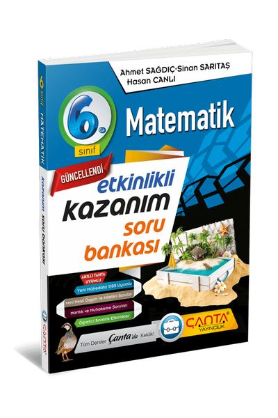 Çanta Yayýncýlýk 6.Sýnýf Matematik Etkinlikli Kazaným Soru Bankasý Yeni Baský (2020-2021)