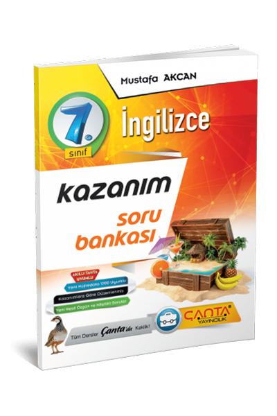 Çanta Yayýncýlýk 7.Sýnýf Ýngilizce Kazaným Soru Bankasý Yeni Baský (2020-2021)
