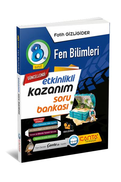Çanta Yayýncýlýk 8.Sýnýf Fen Bilimleri Etkinlikli Kazaným Soru Bankasý Yeni Baský (2020-2021)
