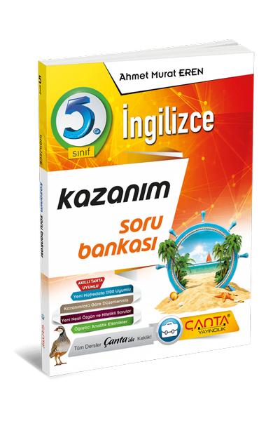 Çanta Yayýncýlýk 5.Sýnýf Ýngilizce Kazaným Soru Bankasý Yeni Baský (2020-2021)