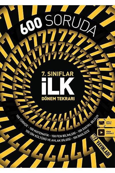 Hýz Yayýnlarý 7.Sýnýf 600 Soruda Ýlk Dönem Tekrarý Yeni Baský (2020-2021)