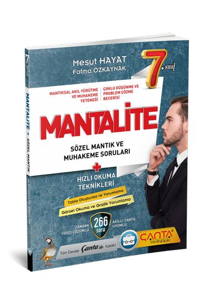 Çanta Yayýncýlýk 7.Sýnýf Sözel Mantýk ve Muhakeme Yeni Nesil (2021)