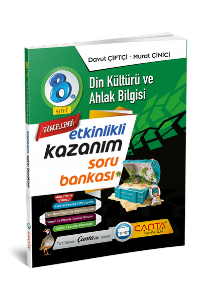Çanta Yayýncýlýk 8.Sýnýf Din Kültürü ve Ahlak Bilgisi Etkinlikli Kazaným Soru Bankasý Yeni Baský (2020-2021)
