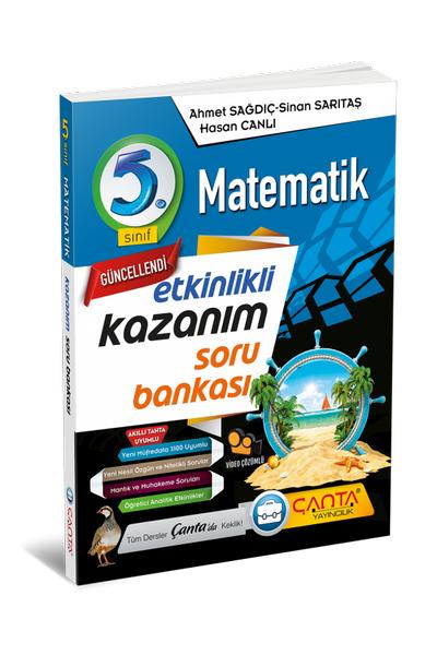 Çanta Yayýncýlýk 5.Sýnýf Matematik Etkinlikli Kazaným Soru Bankasý Yeni Baský (2020-2021)