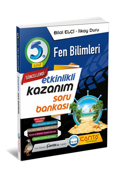 Çanta Yayýncýlýk 5.Sýnýf Fen Bilimleri Etkinlikli Kazaným Soru Bankasý Yeni Baský (2020-2021)
