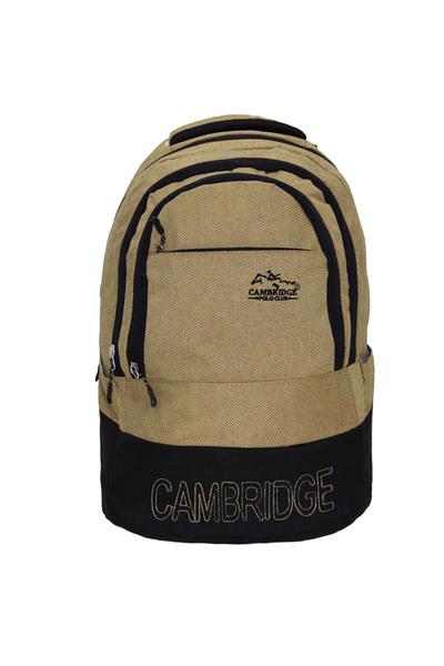 Cambridge Polo Club Sýrt Çantasý PLCAN2052 Krem
