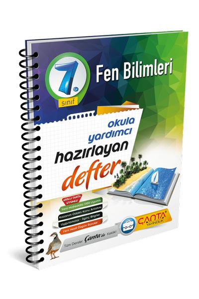 Çanta Yayýncýlýk 7.Sýnýf Fen Bilimleri Hazýrlayan Defter Yeni Baský (2020-2021)