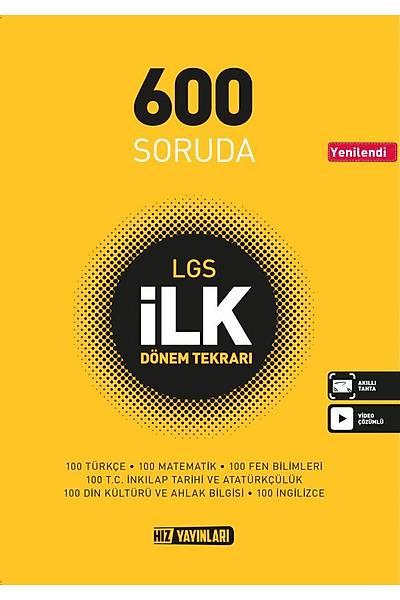 Hýz Yayýnlarý LGS ÝLK 600 Soru Bankasý Yeni Baský (2020-2021)