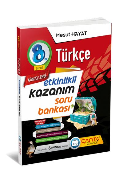 Çanta Yayýncýlýk 8.Sýnýf Türkçe Etkinlikli Kazaným Soru Bankasý Yeni Baský (2020-2021)