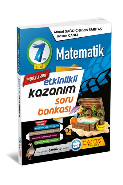 Çanta Yayýncýlýk 7.Sýnýf Matematik Etkinlikli Kazaným Soru Bankasý Yeni Baský (2020-2021)