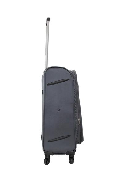 Cambridge Polo Club Kumaþ Bavul Üsküp Orta Boy PLBVL30019-M-Gri