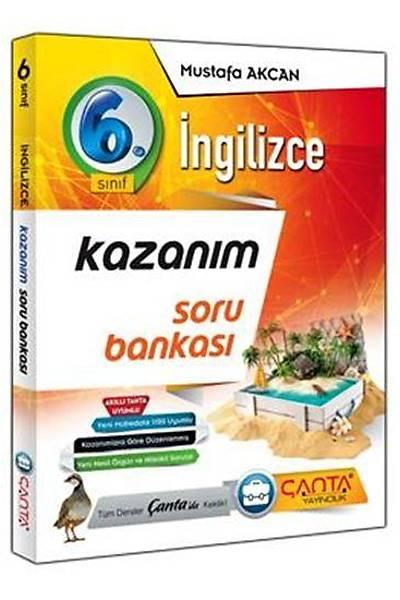 Çanta Yayýncýlýk 6.Sýnýf Ýngilizce Kazaným Soru Bankasý Yeni Baský (2020-2021)