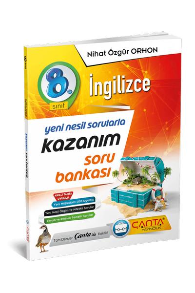 Çanta Yayýncýlýk 8.Sýnýf Ýngilizce Kazaným Soru Bankasý Yeni Baský (2020-2021)