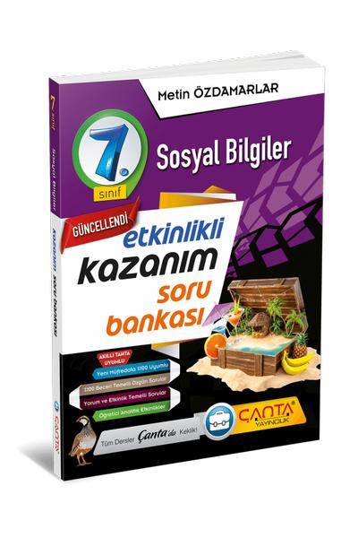 Çanta Yayýncýlýk 7.Sýnýf Sosyal Bilgiler Etkinlikli Kazaným Soru Bankasý Yeni Baský (2020-2021)
