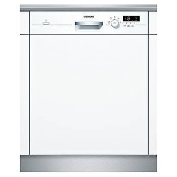 Siemens SN515W00DT 5 Programlý Beyaz Yarý Ankastre Bulaþýk Makinesi