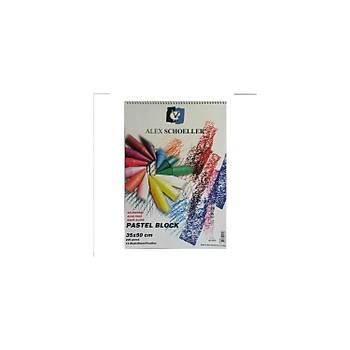 Alex Resim Blok 35X50 220Gr Pastel 15 Li Alx-851