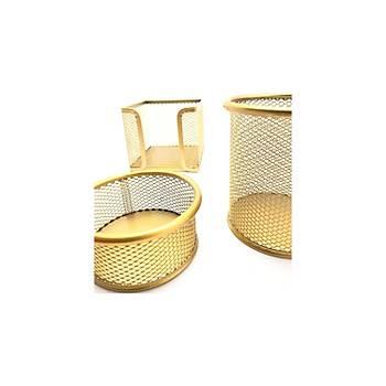Mas 505 Metal Perfore Gold 3'lü