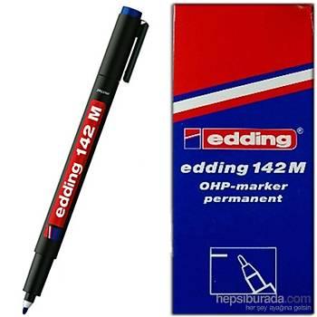 Eddýng Asetat Kalemi E-142M Siyah 10 Lu Ed14201