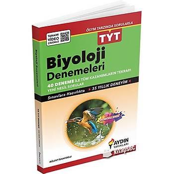 TYT Biyoloji 40 Deneme Aydýn Yayýnlarý