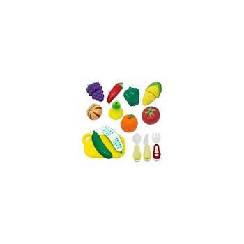 Birlik Oyuncak Meyve ve Sebze Kesme Seti 22 Parça
