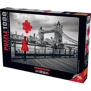 Anatolian 1000 Parça Tower Bridge Puzzle