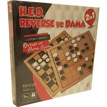 H.E.D Reverse & Dama 2 Oyun Birden