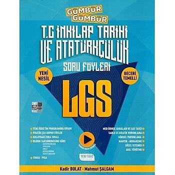 8. Sýnýf LGS T. C. Ýnkýlap Tarihi ve Atatürkçülük Gümbür Gümbür Soru Föyleri Yeni Tarz Yayýnlarý