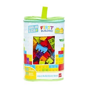 Mgs Oyuncak Smartland Big Blocks LEGO Çantalý 111 Parça URT-5795