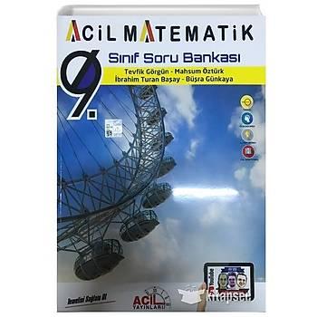 9. Sýnýf Acil Matematik Soru Bankasý Acil Yayýnlarý