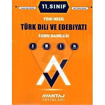 11. Sýnýf Türk Dili ve Edebiyatý Soru Bankasý Avantaj Yayýnlarý