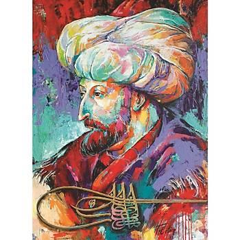 Anatolian 1000 Parça Fatih Sultan Mehmet Puzzle - Tolga Ertem