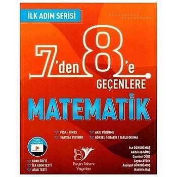 7 den 8 e Geçenlere Matematik Soru Bankasý Ýlk Adým Serisi Beyin Takýmý Yayýnlarý