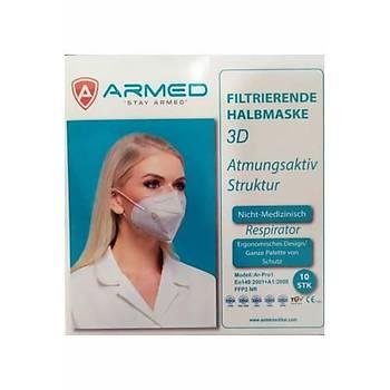 Týbbi Maske - Armed Marka - 3D Filtreli - Ergonomic Dizayn