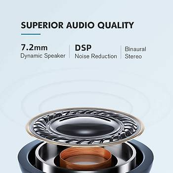 Haylou GT1 XM TWS Beyaz Kablosuz Bluetooth 5.0 Kulaklýk AAC IPX5 DSP