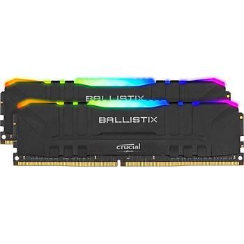 Crucial Ballistix BL2K8G30C15U4BL 16 GB DDR4 3000MHz RGB PC RAM BELLEK CL15(2x8GBKit)