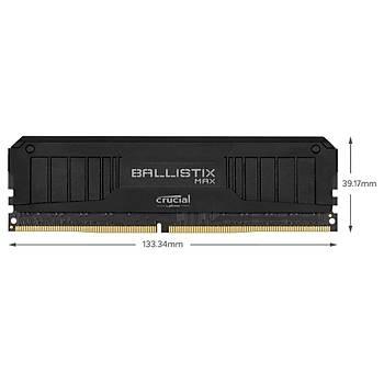 Crucial Ballistix MAX BLM2K16G40C18U4B 32 GB (2x16GB Kit) DDR4 4000MHz PC RAM BELLEK