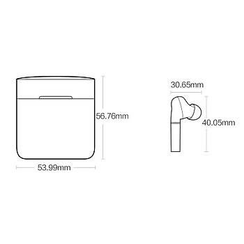 Haylou T19 TWS Earbuds BEYAZ Kablosuz Bluetooth 5.0 Kulaklýk QCC3020