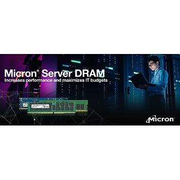 Micron Server RAM DDR4 ECC UDIMM 16GB 1Rx8 3200 CL22 MTA9ASF2G72AZ-3G2B1