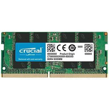 Crucial 8GB DDR4 2400 MHz CL17 SODIMM NOTEBOOK RAM BELLEK CT8G4SFS824A