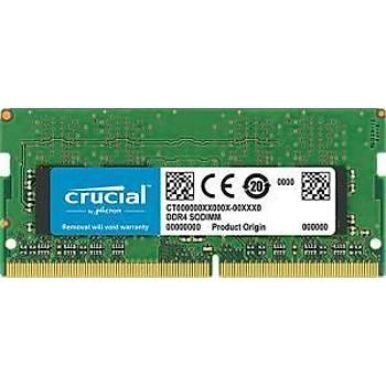 Crucial NTB CT8G4SFRA266 8GB DDR4 2666MHz SODIMM CL19 RAM BELLEK