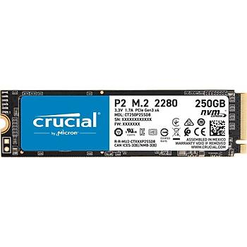 Crucial P2 250GB NVMe PCIe M2 SSD (2100-1150 MB/s) CT250P2SSD8