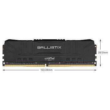 Crucial Ballistix BL8G36C16U4B 8 GB DDR4 3600MHz PC RAM BELLEK CL16 UDIMM