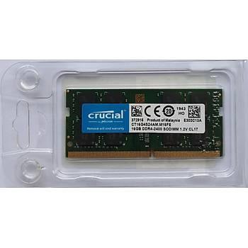 Crucial RAM BELLEK for MAC 16GB DDR4 2400MHz SODIMM CT16G4S24AM