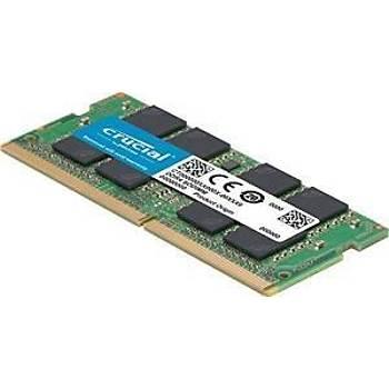 Crucial 8GB DDR4-2400MHz SODIMM NOTEBOOK RAM BELLEK CB8GS2400