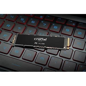 Crucial P5 250GB CT250P5SSD8 3400-1400 MB/s NVMe PCIe M.2 SSD