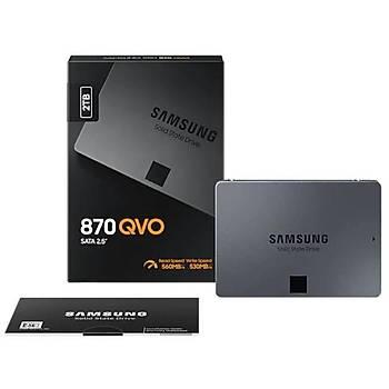 SAMSUNG 870 QVO 2TB SSD SATA3 2,5 (560/530MB/S) MZ-77Q2T0BW