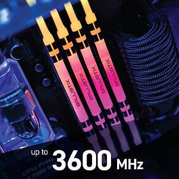 Crucial Ballistix BL2K16G36C16U4BL 32 GB DDR4 3600MHz RGB PC RAM BELLEK CL16(2x16GBKit)