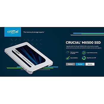 Crucial MX500 500GB SATA 2.5 SSD 560-510 3D NAND CT500MX500SSD1